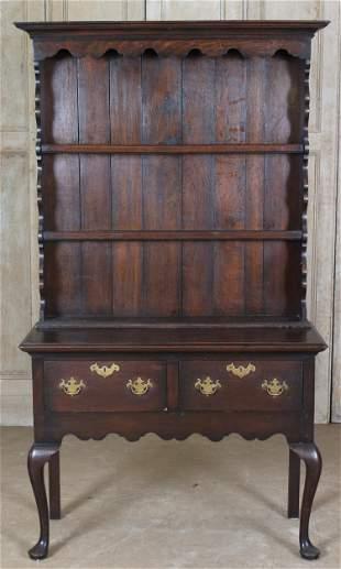 Queen Anne Welsh Cupboard
