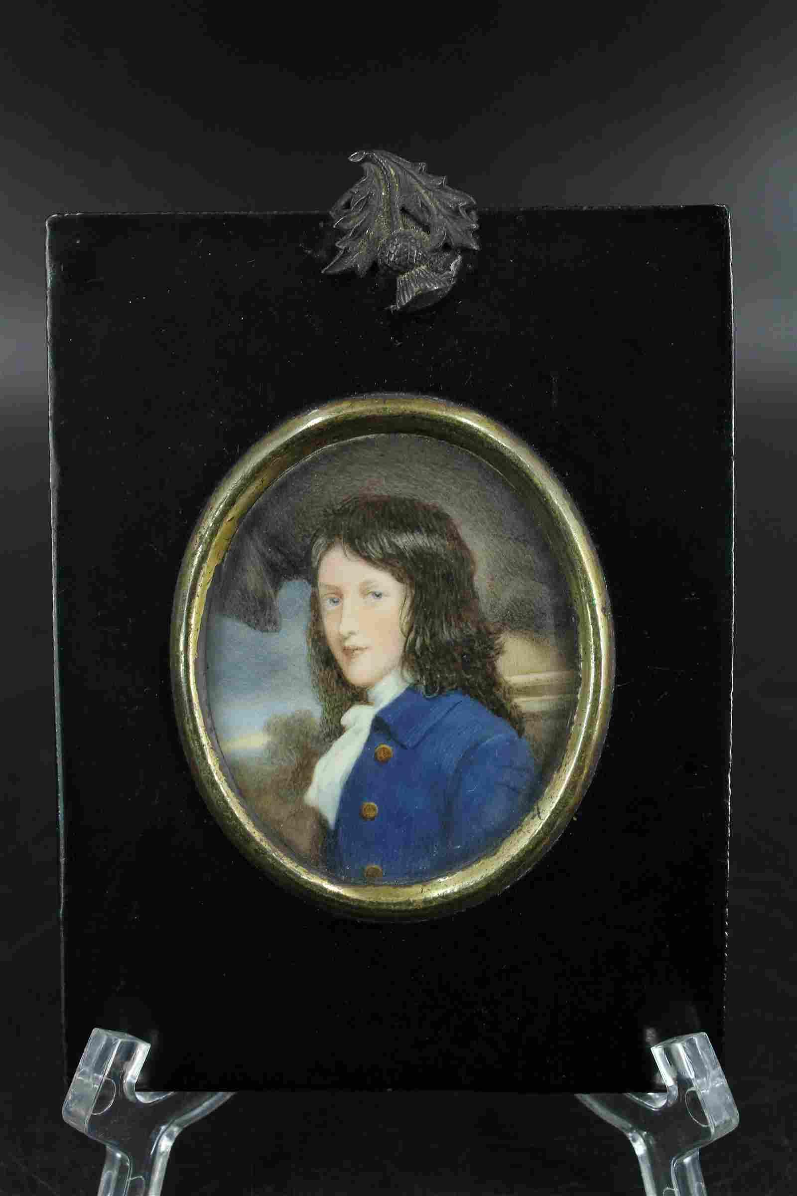 Hand Painted Miniature Portrait