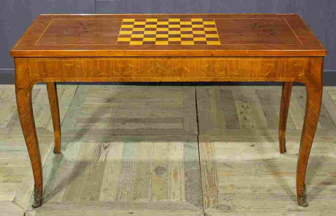 A Good Continental/French Tric Trac Games Table
