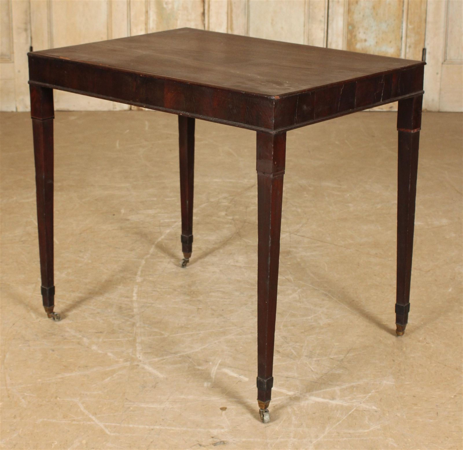 Antique Georgian Style Mahogany Side Table