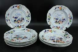 Set of 10 English Ironstone Plates