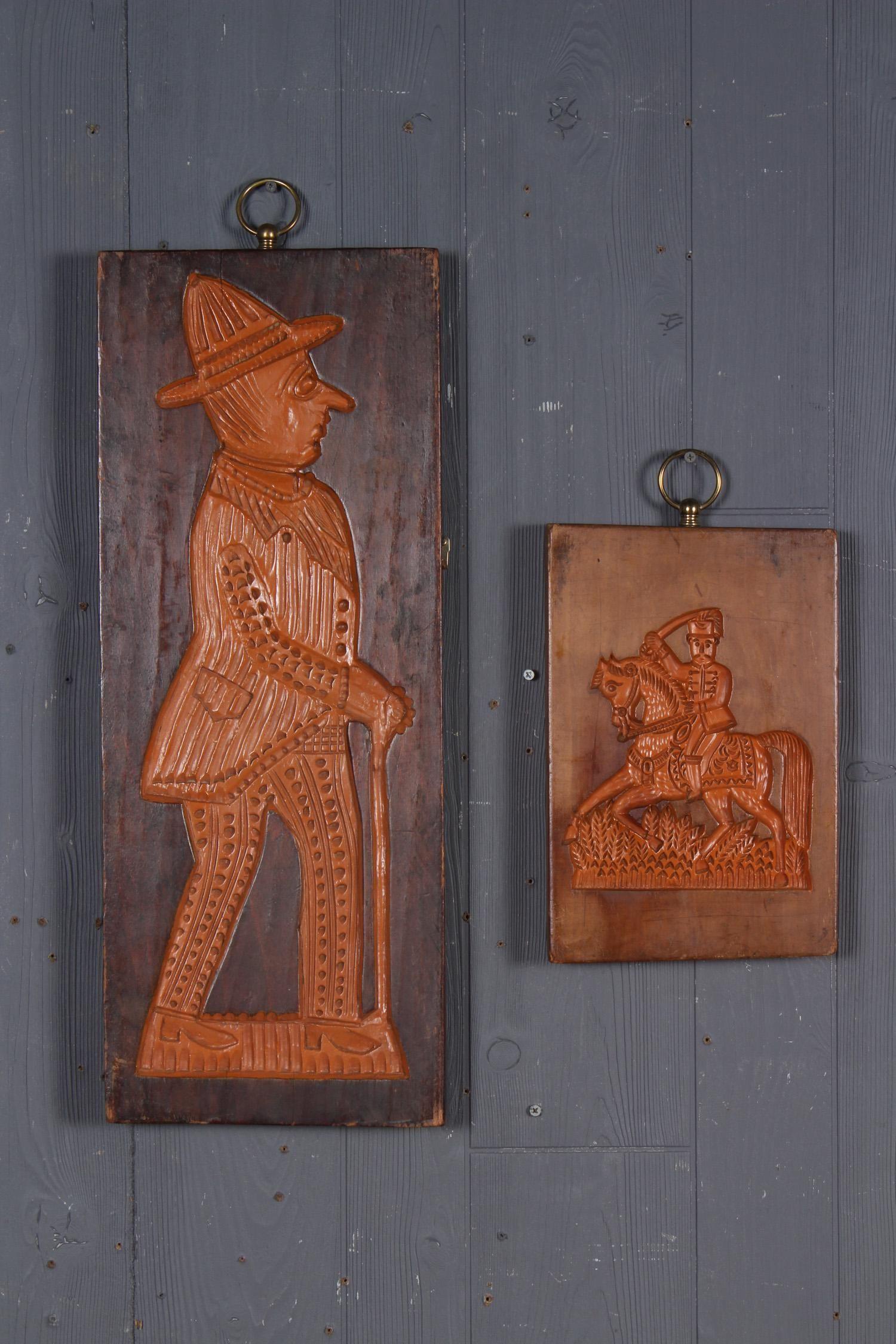 2 Antique Springerle Boards