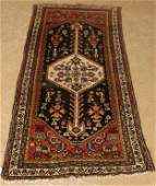 Antique Kurdish Rug Dated 1921 36 x 76