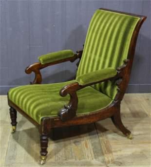William IV Mechanical Reclining Armchair