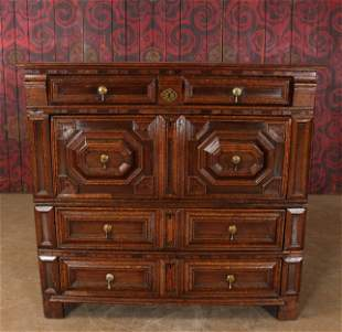 English Charles II Style Chest of Drawers