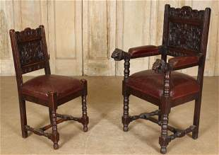 Belgian His and Hers Northwinds Hall Chairs
