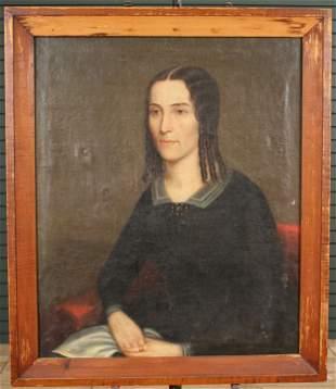 Portrait of Margaret Lucretia Linnell Circa 1845