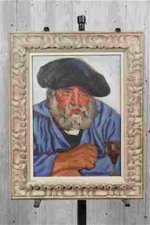 Joseph Margulies (American, 20th C) Portrait