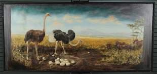 Natural History Museum Vignette Mural Painting