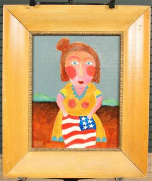 David Tinsley The Red, White and Blue Painting