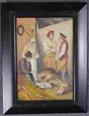 Scottish Genre Painting