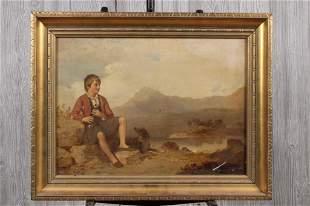 Robert Roland McIan (attr.) Highland Boy
