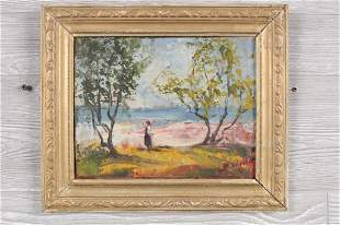 Pastoral Impressionist Painting