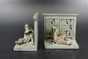 Pair of Bradley & Hubbard Library Gnome Bookends