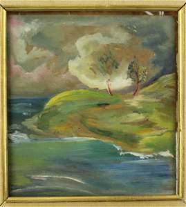 E.E. Cummings Landscape Painting