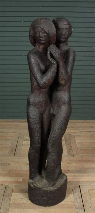 MCM Carved Timber Sculpture