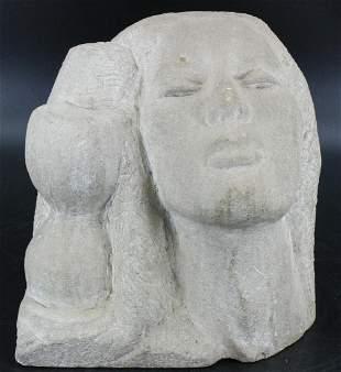 Attributed Marguerite Zorach Stone Sculpture