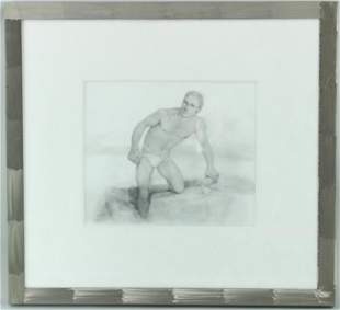 John Lear (20th C, Pennsylvania) Drawing
