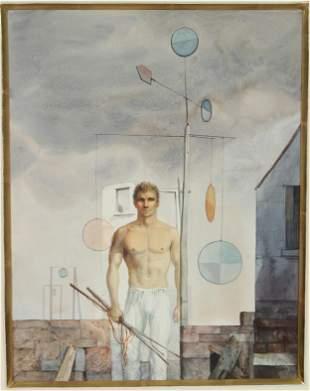 John Lear (20th C, Pennsylvania) Watercolor