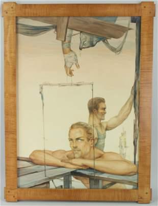 John Lear (20th C, Pennsylvania) Dystopic WC