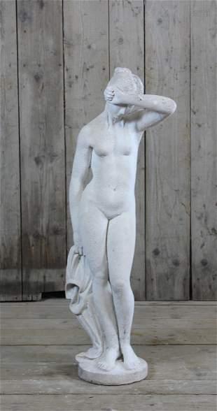 Neo-classica Carved Stone Garden Statue