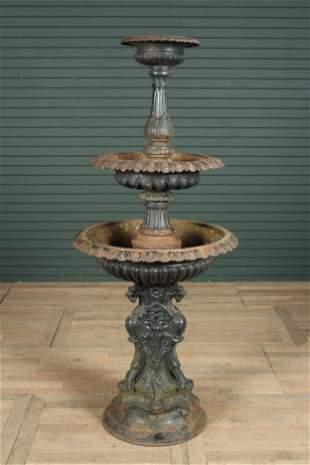 American Victorian 3 Tier Garden Fountain