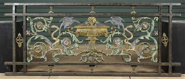 Neo-Classical Style Architectural Railing Panel