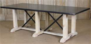 Industrial Top Pine Timber Table