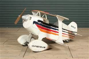 Christen Bi-Plane Pedal Car