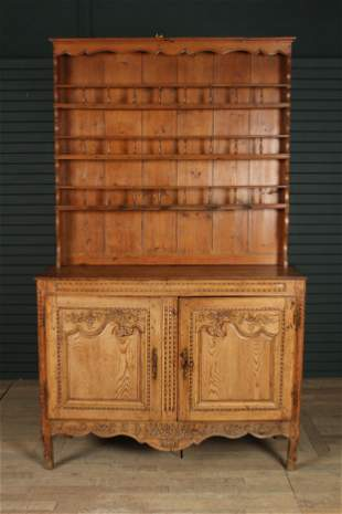 French 19th C. Buffet Deux Corps