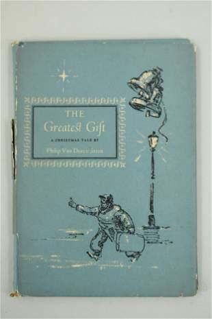 The Greatest Gift by Philip Van Doren Stern 1st Ed