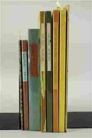 8 Black Sparrow Press Art Books