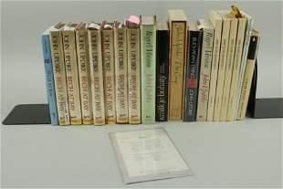 20 Signed John Updike Books