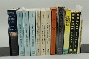 14 Signed John Updike Books