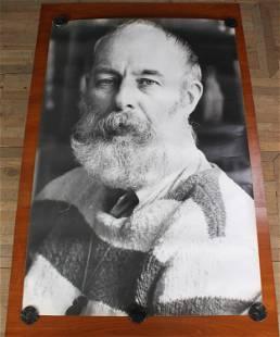 "60"" x 40"" Photographic Poster of Edward Gorey"