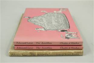 The Jumblies by Edward Lear, Illustrated by Gorey