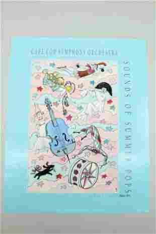 Sounds of Summer Pops '96 Signed Poster