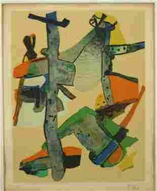 Maurice Esteve (1904-2001, French) Signed Print