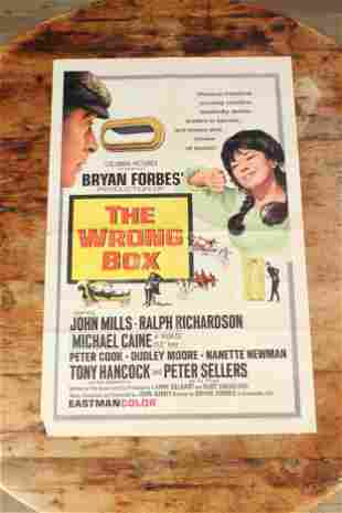 The Wrong Box Movie Theater Poster