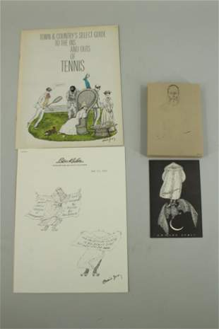 Gorey Promotional Material, Some Signed