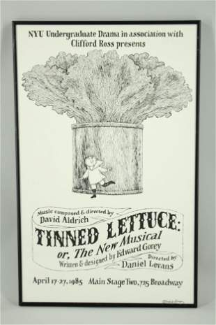 NYU Undergraduate Drama Theater Production Poster