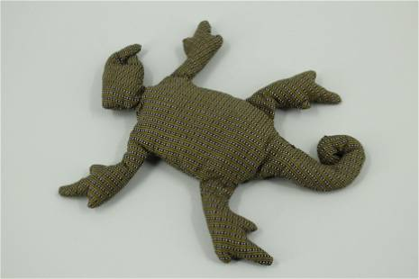 Edward Gorey Salamander Bean Bag Animal