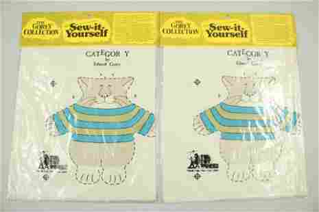 Two The Toy Works Sew It Yourself Category Cat