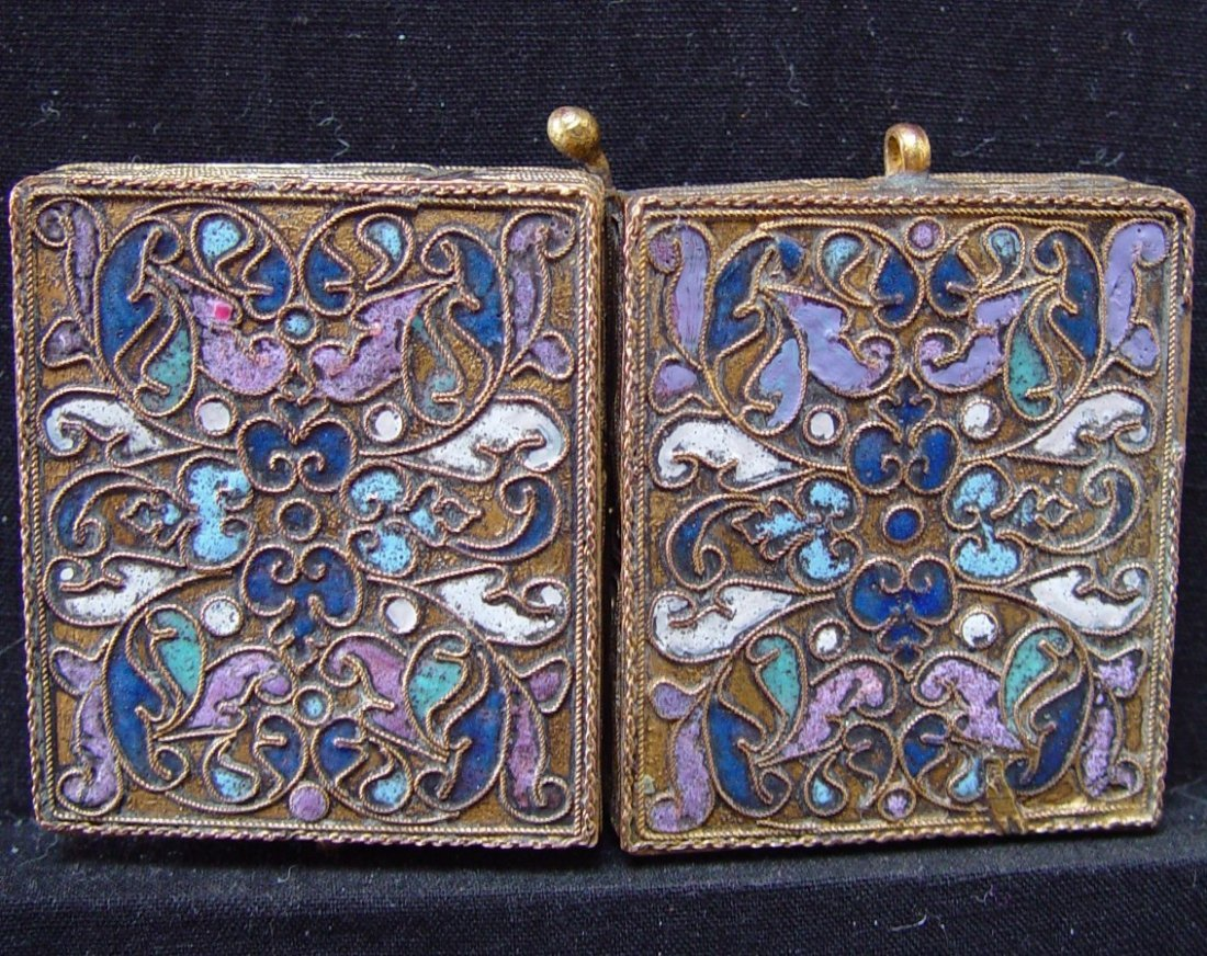 Travelling Diptych, 19th century, Russian Icon. - 3