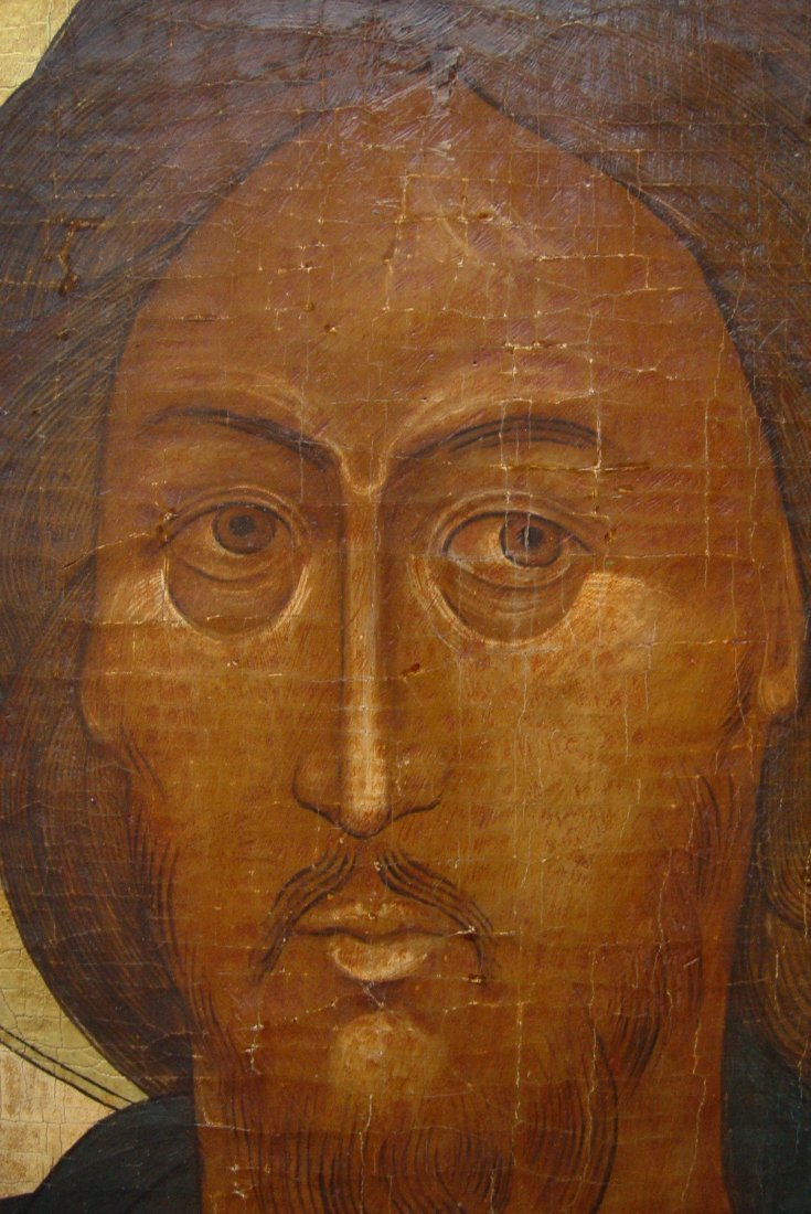 Christ, 18th century, Russian Icon - 3