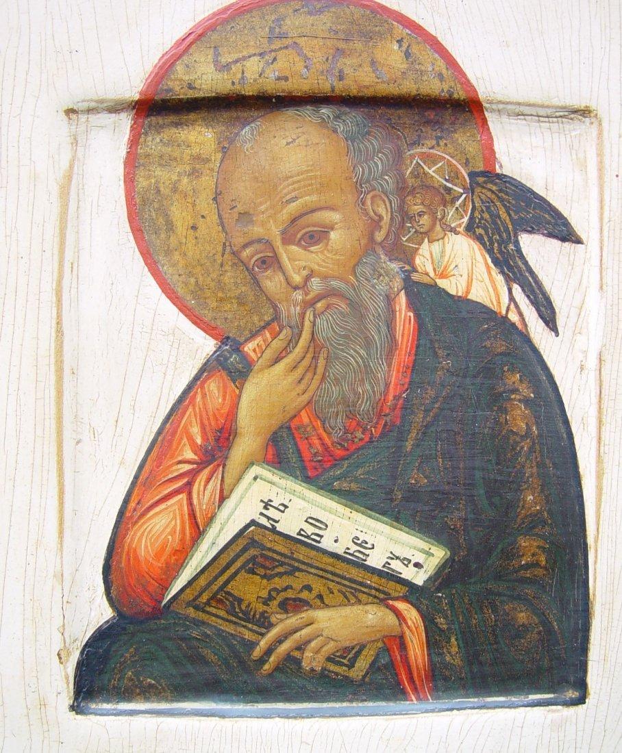Saint John, 19th century, russian icon. - 2