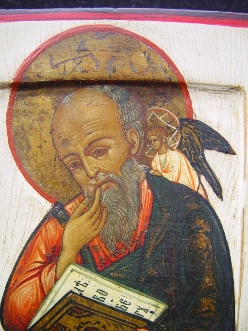 Saint John, 19th century, russian icon. - 3
