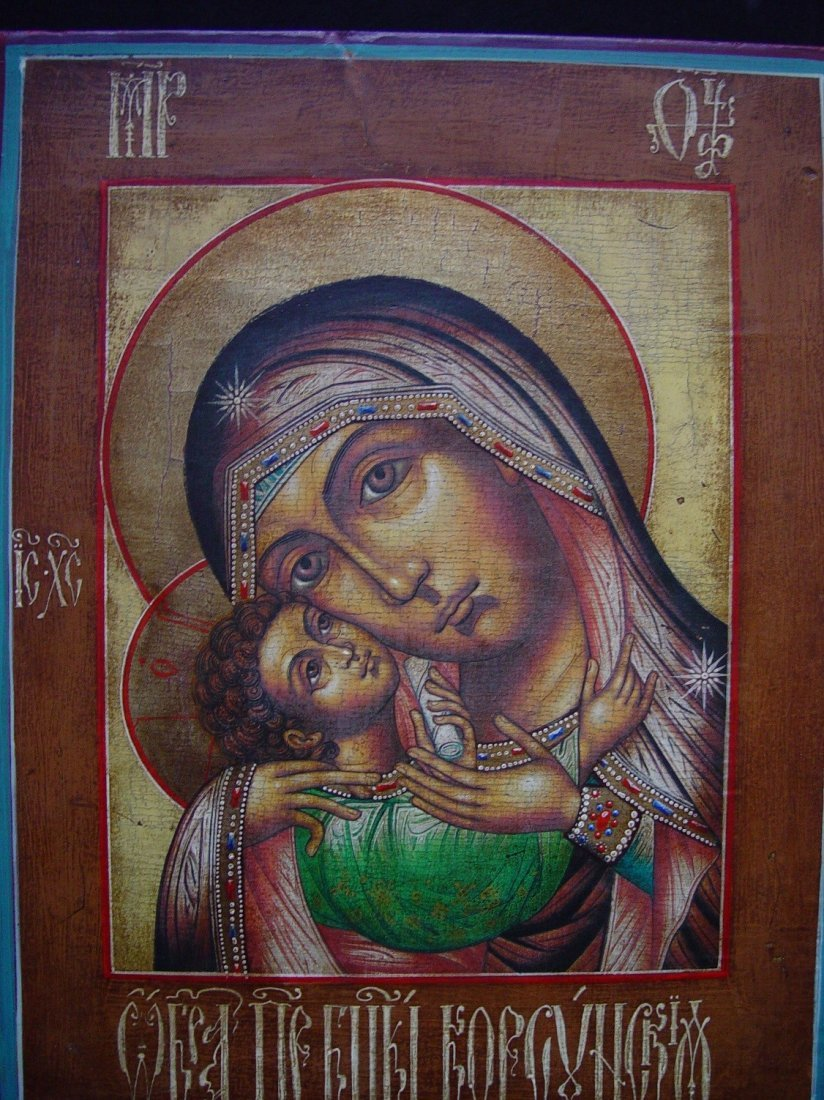 Mother of God of Korsun, age 1900 -1940, Russian Icon - 2