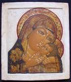 Old Russian Icon, 18 th C, Korsun
