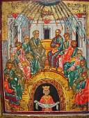 Pentecost, Greek Icon, 20th century